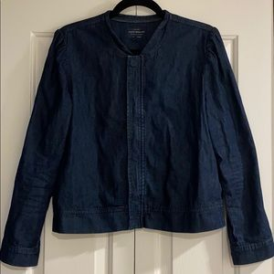 Lucky Brand Jean jacket M (used in good cond)